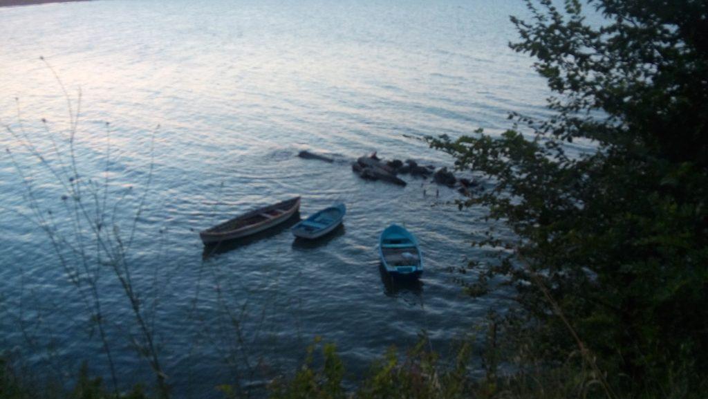 морето и лодките